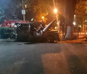 В ночном ДТП с двумя ВАЗами в Воронеже пострадали два человека