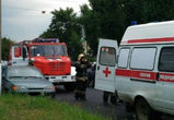 На проспекте Труда в Воронеже мотоциклист спровоцировал массовое ДТП
