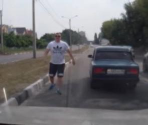 Воронежский автохам на «Жигулях» попал на федеральный канал