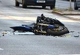 В Воронеже лишили прав водителя Ауди, сбившего байкера и сбежавшего с места ДТП