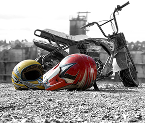 На трассе Воронеж – Тамбов погиб мотоциклист, врезавшись в грейдер