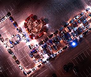 Появилось видео необычного поздравления воронежских автомобилистов с Днем города