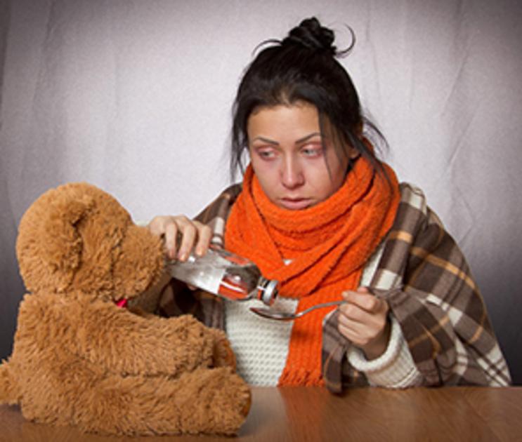 В Воронежской области резко возросло число заболевших гриппом и ОРВИ