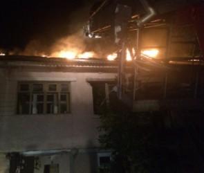 Сразу три пожара в одном районе произошло вечером в Воронеже