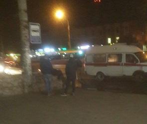 В Воронеже молодой автомобилист на ВАЗе сбил пешехода у остановки