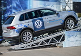 Стиллавин и Вахидов провели в Воронеже Volkswagen Driving Experience 2017