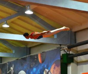 В батутном центре «Невесомость» прошел первый этап фестиваля «Искусство спорта»