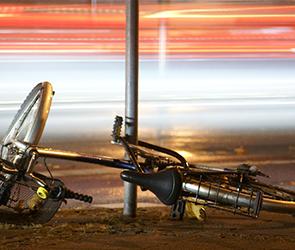 В воронежском селе легковушка насмерть сбила пенсионера-велосипедиста