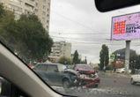 ДТП на перекрестке Димитрова и Ленинского проспекта вызвало огромную пробку