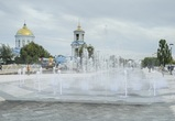 В Воронеже технически открыли  «сухой» фонтан с цветомузыкой