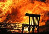 В Советском районе Воронежа  огонь полностью уничтожил жилой дом