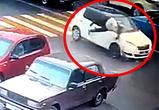 Воронежская «гонщица» на переходе сбила пожилую женщину, видео с места ДТП