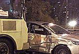 Появились фото нового ДТП с маршруткой в Воронеже: ранены несколько человек