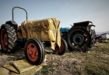 На воронежской трассе ВАЗ-2114 протаранил трактор, один человек серьезно ранен