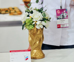 Сахарный кубок FIFA принес победу кондитеру из Воронежа на PIR Expo 2017