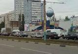 Из-за нескольких ДТП парализованы Северный мост, Остужева и Ленинский проспект