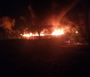 Воронежцы обсуждают очередной пожар на Ленинградской