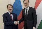 Воронежские власти подписали соглашение о сотрудничестве с Венгрией