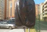 Воронежцы добились демонтажа незаконных знаков в ЖК «Московский квартал»