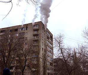 Появилось видео пожара на левом берегу Воронежа: один человек погиб, один ранен