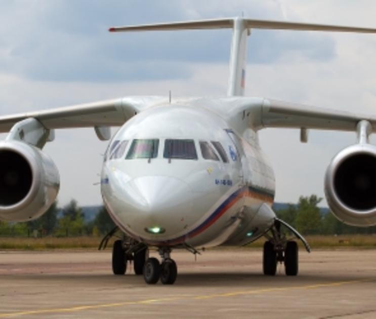 В Воронеже у Ан-148 отказал двигатель во время полета