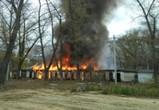 Пожары на Ленинградской в Воронеже продолжаются, несмотря на контроль властей