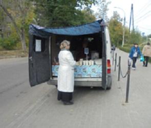 Чиновники и полицейские разогнали торговцев-нелегалов в центре Воронежа