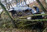 На улице Острогожской в Воронеже перевернулся автомобиль