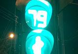 Бесконечный отсчет светофора в Воронеже попал на видео