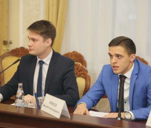 Члены Молодежного совета представили в мэрии свои проекты