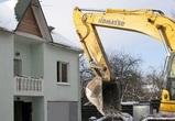 В Воронеже снесли два дома, построенных в лесу незаконно