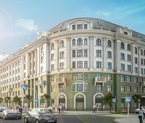 Стало известно, что появится на месте дома-призрака на площади Ленина