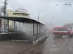 Пожар в подземном переходе в Воронеже 162744