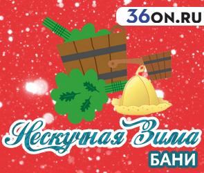 «Нескучная зима»: бани и сауны «для сугреву» в Воронеже