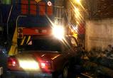 Опубликованы фото очередного столкновения автомобиля с поездом в Воронеже
