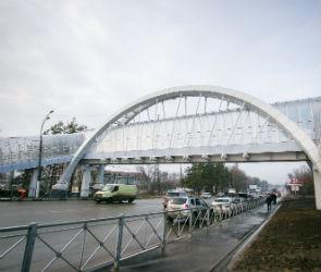 В Воронеже у памятника «Танку» открыли надземный пешеходный переход