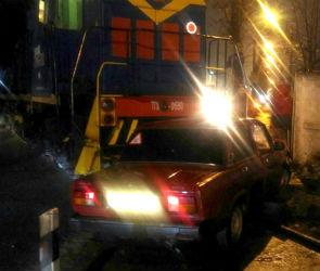 Стали известны подробности аварии с тепловозом и ВАЗом в Воронеже