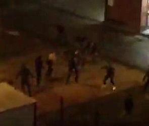 Появилось видео массовой драки с битами и травматическим оружием в Воронеже