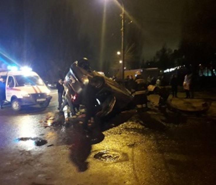 Стали известны подробности ДТП на Циолковского в Воронеже
