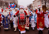 Центр Воронежа перекроют из-за парада Дедов Морозов