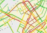 В последний рабочий день года Воронеж парализовали 8-балльные пробки