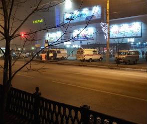 В Воронеже вновь эвакуировали посетителей гипермаркета