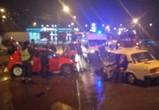 В Воронеже столкнулись «Фольксваген» и «ВАЗ» - фото с места ДТП