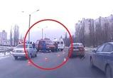 В ДТП на Сибиряков в Воронеже пострадали 5 человек: последствия попали на видео
