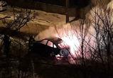 В Воронеже сгорела «Лада Гранта», пожар попал на фото