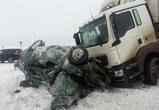 В Воронежской области ищут свидетелей ДТП с КамАЗом, раздавившим легковушку