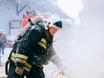 Пожар на хладокомбинате в Воронеже 163833