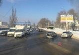 Стали известны подробности массового ДТП на улице Лебедева в Воронеже