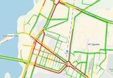 Выезд из Воронежа в сторону Ростова парализован огромной пробкой из-за трех ДТП