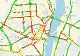 Воронеж парализован: в городе снова 9-балльные пробки